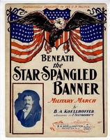 1907 Beneath The Star-Spangled Banner B A Koellhoffer F Suenderhaft Irvington NJ