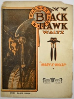 1907 Black Hawk Waltz Chief Black Hawk Mary E Walsh