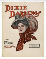 1907 Dixie Darlings L H J Percy Wenrich