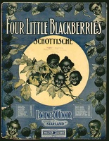 1907 Four Little Blackberries Lawrence B O'Connor