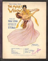 1907 I Love You So from The Merry Widow Franz Lehar H M Higgs