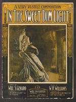 1907 In The Sweet Dim Light Will S Genaro W R Williams