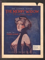 1907 My Vilia from The Merry Widow Franz Lehar