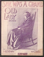 1907 She Was A Grand Old Lady S R Henry Wm Cahill