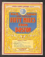 1907 Small Town Gal from Fifty Miles From Boston Geo M Cohan
