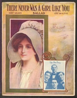 1907 There Never Was A Girl Like You The Big Four Harry Williams Egbert Van Alstyne