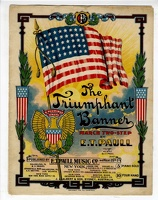 1907 Triumphant Banner March E T Paull