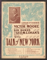 1907 Under Any Old Flag At All from The Talk Of New York Victor Geo M Cohan