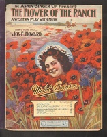 1907 Watching The Blue Smoke Curl from The Flower Of The Ranch Mabel Barrison Jos E Howard