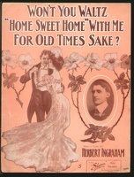 1907 Won't You Waltz Home Sweet Home With Me For Old Time's Sake Harry Webb Herbert Ingraham