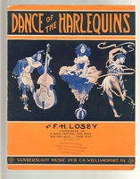 1909 Dance Of The Harlequins F H Losey Williamsport PA