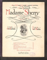 1909 I'm Looking For A Financier from Madame Sherry Lina Abarbanell Otto Hauerbach Karl L Hoschna