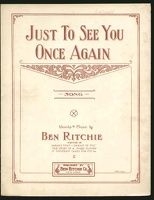 1909 Just To See You Once Again Ben Ritchie