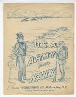 1909 U S A Army And Navy Pedaphone Levi Co