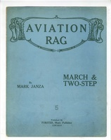 1910 Aviation Rag Mark Janza