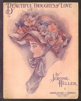 1910 Beautiful Thoughts Of Love Jerome Heller