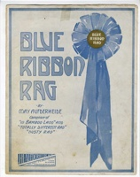 1910 Blue Ribbon Rag May Aufderheide