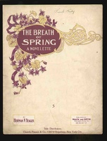 1910 Breath Of Spring Herman V Yeager Philadelphia PA