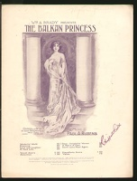 1910 Dear Delightful Women from The Balkan Princess Wm A Brady Paul A Rubens