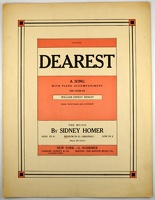 1910 Dearest WIlliam Ernest Henley Sidney Homer