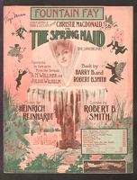 1910 Fountain Fay from The Spring Maid Christie Macdonald Heinrich Reinhardt Robert B Smith