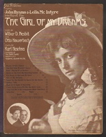 1910 Girl Who Wouldn't Spoon from The Girl Of My Dreams Leila Mcintyre Wilbur D Nesbit Otto Hauerbach Karl Hoschna