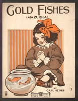 1910 Gold Fishes Carl Heins