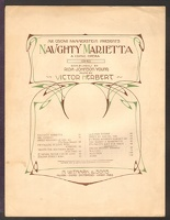 1910 Italian Street Song from Naughty Marietta Rida Johnson Young Victor Herbert