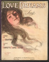 1910 Love Dreams J J Crawford and Henriette Blanke-Belcher