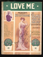 1910 Love Me from Alma Where Do You Live Kitty Gordon Adolf Philipp Geo V Hobart Jean Briquet