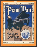 1910 Piano Man Edwards Van And Tierney Snyder Irving Berlin