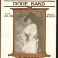 1915 Listen To That Dixie Band Elizabeth Murray Geo L Cobb Jack Yellen