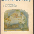 1915 Mother's Old Sweet Lullaby H C Weasner Chicago IL