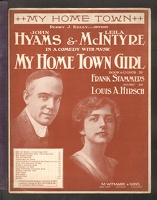 1915 My Home Town from My Home Town Girl John Hyams Leila Mcintyre Frank Stammers Louis A Hirsch.