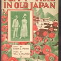 1915 Poppy Time In Old Japan Ernest J Meyers Will E. Dulmage