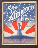 1915 See America First Richard E Vernor F. Dudleigh Vernor
