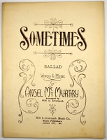1915 Sometimes Ansel McMurtry Will L Livernash Kansas City MO
