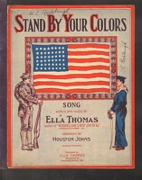 1915 Stand By Your Colors Ella Thomas Philadelphia PA