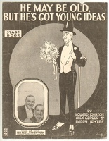 1916 He May Be Old But He Has Young Ideas James Mulen And Alain Coogan Johnson Gerber Jentes