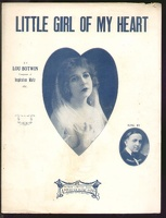 1916 Little Girl Of My Heart Charlie Adams Lou Botwin