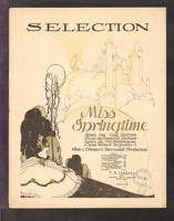 1916 Miss Springtime Instrumental Selection Guy Bolton Emmerich Kalman