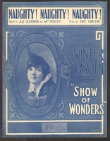 1916 Naughty Naughty Naughty from Show Of Wonders Grace Fisher Joe Goodwin Wm Tracey Nat Vincent