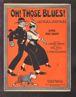 1916 Oh Those Blues Lazy Blues Crazy Blues Isadore Murphy Paul Biese F Henri Klickmann