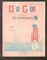 1916 Old Glory A Song Of Preparedness Capt Edwin Skedden Katherine Pike