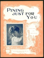 1916 Pining Just For You Miss Brady Gladys G Dennis Harry H Williams Providence RI