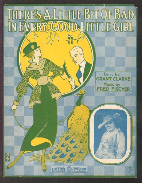 1916 There_s A Little Bit Of Bad In Every Good Little Girl Sophie Tucker Grant Clarke Fred Fischer.jpg