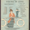 1916 You're In Love Title Song Otto Hauerbach Edward Clark Rudolf Friml