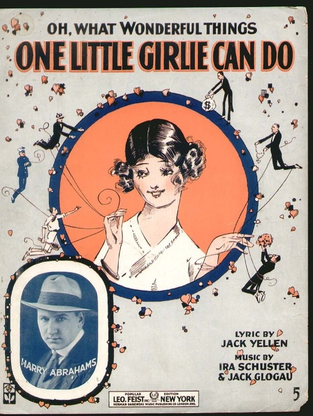 1917 One Little Girlie Can Do Harry Abrahams Jack Yellen Ira Schuster Jack Glogau.jpg