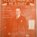 1917 Please Papa Buy Me A Baby James L. Dempsey Harry J Lincoln Williamsport PA