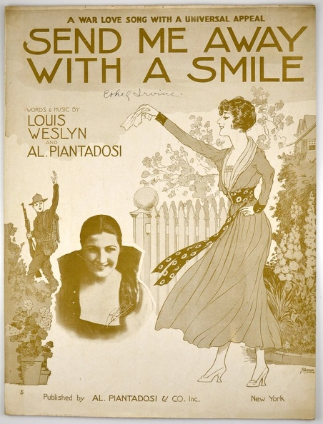 1917 Send Me Away With A Smile Starmer Louis Weslyn Al Piantadosi.jpg